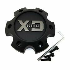 KMC XD Series Black Wheel Center Cap 6L XD818 Heist XD829 Hoss II XD840 Spy II