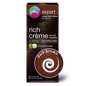 Godrej Expert Rich Crème Hair Colour Dark Brown 62g+50ml(Multi Application Pack)