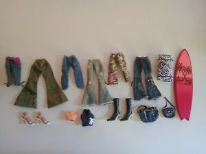 Bratz Clothing and Shoes Bulk Lot - Used condition