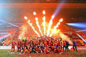 Liverpool FC Premier League Champions 2020 Presentation Photograph Picture