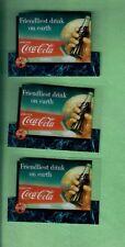 1995 COCA COLA SPRINT PHONE CARDS LOT OF3 CELS PREMIER EDITION SCOREBOARD RARE