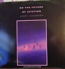 """12"""" VERY RARE LP THE FUTURE OF AVIATION BY JERRY GOODMAN (1985) PRIVATE MUSIC"""
