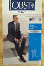 NEW Jobst for Men Medical Compression Socks 15-20 mmHg Black Medium Knee Ct