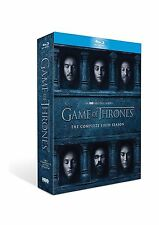 Game of Thrones Season 6, (Blu-ray Disc, 2016 4-Disc Set) Free Fast Shipping NEW