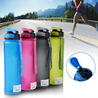 1L Outdoor Sports Drinking Water Bottle Leak-Proof Portable Cycling Travel Cup