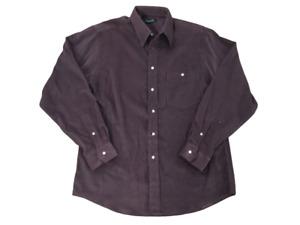 Christian Dior Men's Corduroy Shirt Brown
