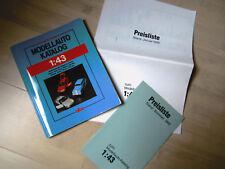 Modellauto-Katalog 1:43 (***TOP***) Peter R. Cordes / Alba 1991 - 2. Auflage