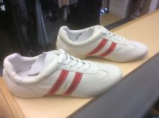 TAMARIS trainer shoe white with red stripes size 4 NEW