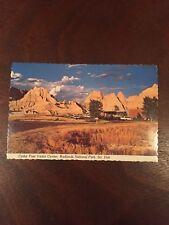 Cedar Pass Visitor Center, Badlands National Park, South Dakota, Postcard