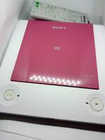 Sony DVP-PR30 DVD CD DVD-RW Divx MP3 Precision Drive Player PINK REGION 2 PAL