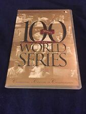 100 YEARS OF THE WORLD SERIES DVD BASEBALL
