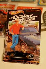 CUSTOM CARD! SMOKEY AND THE BANDIT Fast Furious Trans Am w/ HOT WHEELS HOT BIRD
