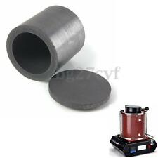 40*40mm Purity Graphite Melting Crucible Casting With Lid Cover Gold Silver
