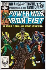 Power Man and Iron Fist #78 Near Mint (9.2) Feb 1982 3rd: Sabretooth (disguised)