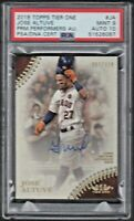 2018 Topps Tier One #JA JOSE ALTUVE Prime Performance-Autograph PSA 9 MINT