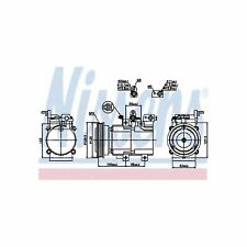 Genuine Nissens A/C Air Con Compressor - 89276