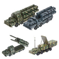 1:72 S-300 Missile Systems Radar Vehicle Assembled Military Car Model  Fh