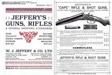 Jeffrey's Gun, Rifle and Accessory 1910-1911 Catalog (UK)