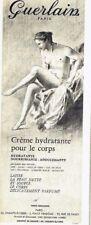 Publicité Advertising 097  1959  Guerlain  creme hydratante pour le corps  cosmé