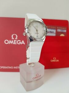 Omega Constellation Diamond Dial 35mm 123.12.35.60.52.001 Box & Card (2014)