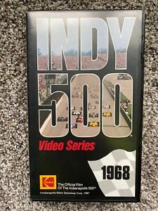 1968 Indianapolis 500 VHS Video Series Preview For The Future Kodak TESTED WORKS