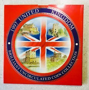 Royal mint Brilliant Uncirculated 1997 GB coin set