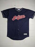Cleveland Indians Corey Kluber MLB Stitched Front Baseball Jersey Youth Large