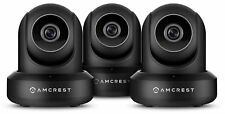 Amcrest 1080P ProHD Black IP Security Surveillance HD Camera Wireless 3-Pack
