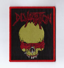 "Devastation ""Idolatry"" Patch demolition hammer-dark angel-sadus-morbid saint-dri"