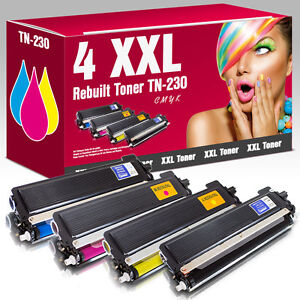 4 XXL Toner kompatibel zu Brother TN-230 HL 3040 CN