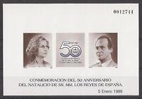 DIFÍCIL PRUEBA DE LUJO NATALICIO EDIFIL Nº 15 NUEVA **