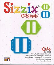 # Sizzix Tab, Rectangle & Triangle Die 38-1062