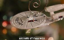 Battle Damaged Star Trek USS Enterprise Custom Christmas Ornament NCC 1701 Spock