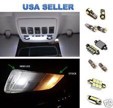 GMC Sierra White LED Lights Interior Package Kit Error Free - 2007+