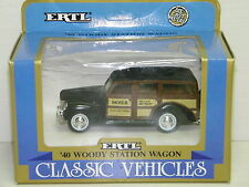ERTL - WOODY STATION WAGON 1940 MOSER MANUFACTURE