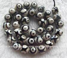 """10mm Natural Agate Faceted Round Loose Beads 14.5"""""""