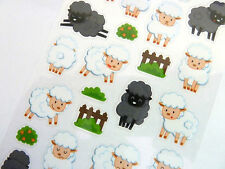 Sheep Stickers for Kids, Children PVC16, Fun Labels for Party Bags, Craft