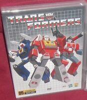 1 DVD ROBOT-TRANSFORMERS G1 S.2,3/BOX 5-COVER AUTOBOT/BLASTER,INTERCEPTOR,TRACKS