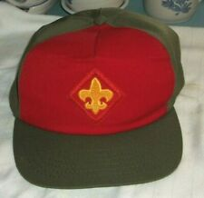 Boy Scouts,Green/Red,Hat,Cap,New!