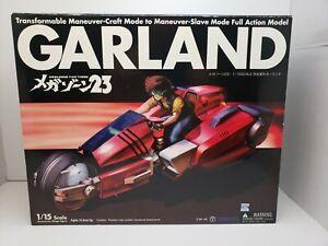 NASKA Megazone 23 1/15 Complete Deformation Garland Bike Figure  USA seller.