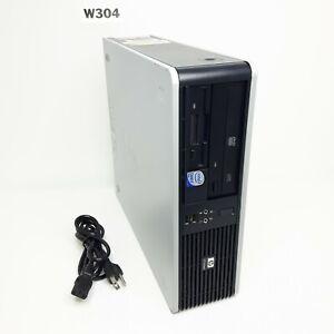 HP Compaq dc5800 SFF INTEL CORE 2 Duo E7200 2.53GHz 4GB 500GB WIN 10 PRO W304