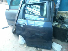 HONDA JAZZ 5 DOOR REAR DRIVERS SIDE RIGHT DOOR COMPLETE DARK BLUE 2002-2008
