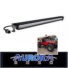"50"" AURORA S-Series Single Row Off-Road LED Bar 27,060 Lumens @250W Osram Oslon"