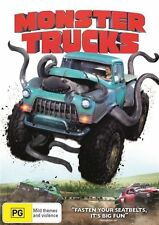 Monster Trucks (DVD, 2017) NEW