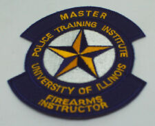 Illinois Firarms Instructor Shoulder Patch New.