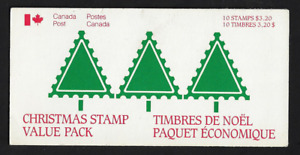 Canada -Booklet Pane of 10 in Cover -Christmas: Santa Claus Parade #1070a (BK90)