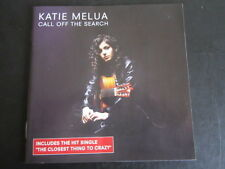 Katie Melua - Call off the search: 2003 Dramatico Enhanced CD album (Blues Jazz)