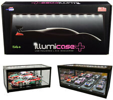 Collectible Display Show Case Illumicase+ With LED Lights Mirror Base 1/64-1/18