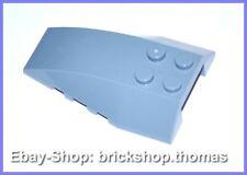 Lego Flügel Keilstein Cockpit blau - 43712 - Wedge 6x4 Sand Blue - NEU / NEW