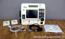 Lifepak 12 Biphasic 3 Lead ECG Pacing Analyze ECG Cable 2 Batteries Pads